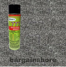 20ftx4ft  CHARCOAL LINER Speaker BOX CARPET+1CAN  777  Spray GLUE ADHESIVE