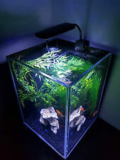 NANO Aquarium Fish Tank, 30 litre with Led Light and Filter