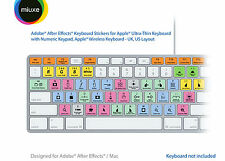Adobe After Effects Keyboard Stickers | Mac | QWERTY UK, US