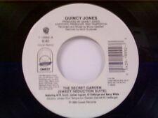 """QUINCY JONES """"THE SWEET GARDEN (SWEET SEDUCTION SUITE) / INSTRUMENTAL"""" 45"""