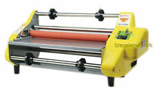 """Updated New version Four Rollers Hot and cold roll laminating machine for 13"""""""