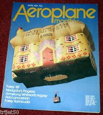 Aeroplane Monthly 1981 April Barracuda,Lancastrian,RAAF