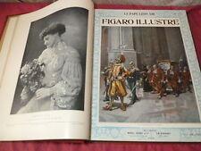 LE FIGARO ILLUSTRE 1903 in-folio 12 numéros dont Spécial Noel complet relié