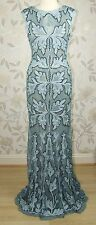 RRP £325 BNWT Phase Eight Collection 8 PAIGE TAPEWORK Long Evening Dress Size 12