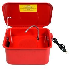 Portable 3-1/2 Gallon Electric Parts Washer Solvent Pump US Stock Free Shipping