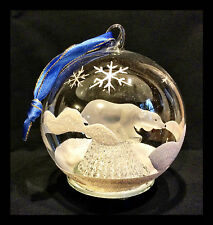 Polar Bear  Lighted Ornament Figurine Collectible Holiday Decor