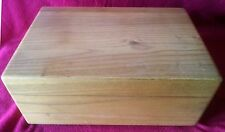 Solid Oak Humidor Cigar, Tobacco Box, NEW....