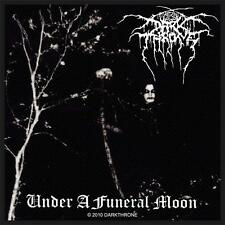 OFFICIAL LICENSED - DARKTHRONE - UNDER A FUNERAL MOON SEW ON PATCH BLACK METAL