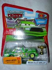 CARS DISNEY CHICK HICKS AVEC LA COUPE PISTON CUP NEUF