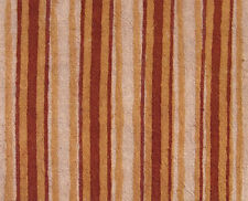 2½ Yards , Striped, Hand Block Printed Cotton. Natural Dyes. Artisan Fabric