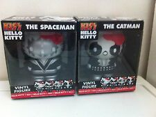Funko Pop Kiss Hello Kitty Spaceman N Catman Mint In Boxes