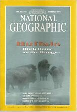 National Geographic November 1994 Buffalo/When Ancient Greeks Went West/Madeira