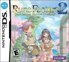 Rune Factory 2: A Fantasy Harvest Moon [Nintendo DS DSi, Natsume Video Game] NEW
