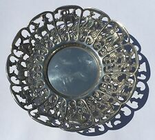 Beautiful Solid Silver African Animal Themed Bowl Hallmarked