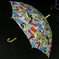 New Wave Black Comic Book Anime Parasol Umbrella Gothic Lolita 80s 90s Kpop Punk