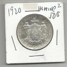 COMMEMORATIVE HALF DOLLAR - 1920 MAINE - SILVER - HIGH GRADE***