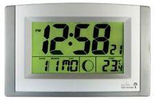 Acctim Reloj controlados por radio con luz automático de llamadas