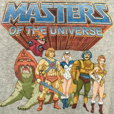 NWT Masters of the Universe He-Man Teela Grayskull Graphic T-shirt S or M