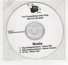 (GO35) Nuala, Big Disappointment - DJ CD