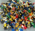LEGO Minifigure x2 TWO & ACCESSORY lot Town assorted City Fire Police Authentic