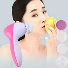 5-1 Multifunction Electric Face Facial Cleansing Brush Spa Skin Care CSUP