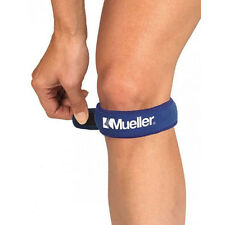 Mueller Blue Jumper Knee Strap Patella Tendon Brace Tendonitis Support Sport NHS