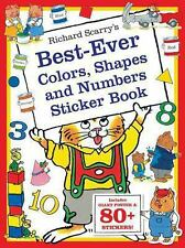 Richard Scarry's Best Ever Color, Shapes, and Numbers : Includes Giant Poster...