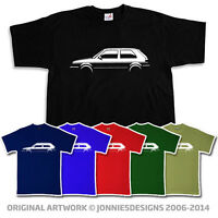 VOLKSWAGEN VW MK2 GOLF GTI INSPIRED T-SHIRT - CHOOSE FROM 6 COLOURS (S-XXXL)