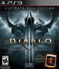 Playstation 3 Diablo III Reaper of Souls Ultimate Evil Edition New