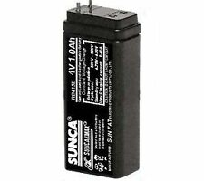SUNCA 4V 1 Ah maintenance Free Rechargable Battery for Emergency Light/Toy/UPS