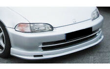 HONDA CIVIC 92-95 4DR MUGEN PLASTIC FRONT LIP - CARBON CULTURE - HIGH QUALITY