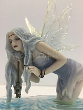 Fishing For Riddles by Selina Fenech water Fairy sculpture Statue Figure