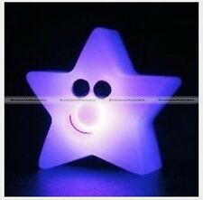 7-Color Changing Star LED Lamp Night Light Home Room Decor Party Kids Gift