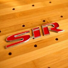 3D SiR LOGO  BADGE EMBLEM STICKER DECAL For HONDA CIVIC Si RACING JDM DX LX EX