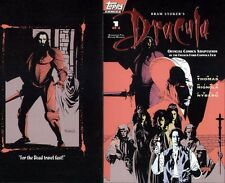 MIKE MIGNOLA ART DRACULA #1 ORIGINAL COMIC COVER PRODUCTION PROOF 1992 TOPPS