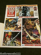 2000AD #828 - MARCH 27 1993 WITH SCANCARDS