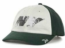NEW YORK JETS new NFL WOMENS SPARKLE BLING ADJUSTABLE HAT CAP-OSFA ONE SIZE