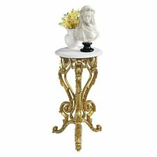 """Ky01416 - """"Palace of Versailles"""" Petite Accent Pedestal End Table"""