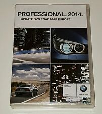 Bmw professional 3D 2014 mise à jour dvd road map europe original 2 cd