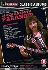 LICK LIBRARY Learn to Play BLACK SABBATH PARANOID CLASSIC ALBUMS Guitar DVD ROCK