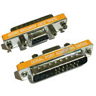 Mini DB9 Female to Male 25-Pin Serial RS232 Port Null Modem PC Extension Adapter
