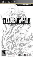 PLAYSTATION PSP GAME FINAL FANTASY IV THE COMPLETE COLLECTION BRAND NEW SEALED
