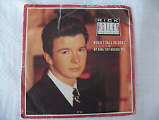 RICK ASTLEY - WHEN I FALL IN LOVE / MY ARMS KEEP MISSING YOU - RCA