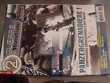 µ? Revue 2e Guerre Mondiale n°48 Panzergrenadiere Khalkhin-Gol Tali Ihantala