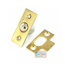 19mm BRASS BALES CATCH Ball Catch Mortice Door Cupboard Spring Roller Latch