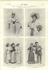 1894 Miss Lottie Venne Maud Hobson Eric Lewis Blanche Massey Gaiety