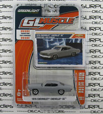 GREENLIGHT 1:64 2016 GL Muscle Release 17 Gray 1970 CHEVROLET Chevy CHEVELLE SS