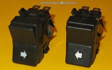 LAMBORGHINI MIURA ESPADA JARAMA POWER WINDOW SWITCH LEFT & RIGHT BLACK NEW RARE