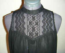 NEW with TAGS Belle London @ New Look Lace Chiffon Blouse Top Size XS
