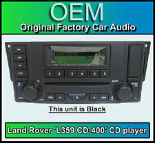 Land Rover Range Rover Sport CD player radio, L359 CD-400 car stereo + Warranty